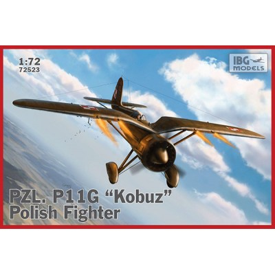 "1/72 PZL P .11G ""Kobuz"" – Polish Fighter"