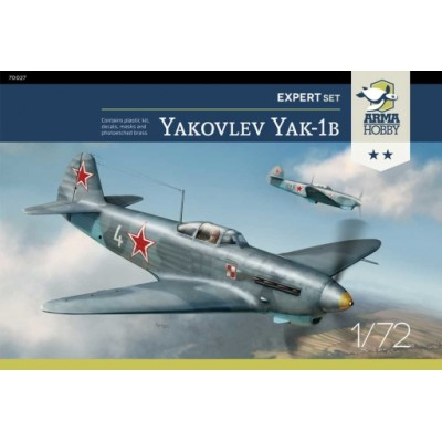 1/72 Yakovlev Yak-1b Expert Set