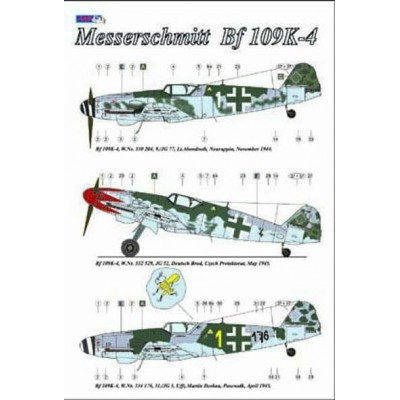 Messerschmitt Me 109K-4, Part II