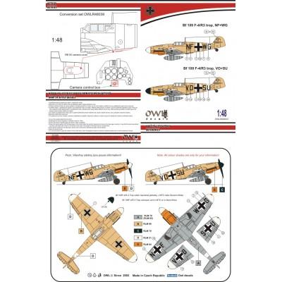 1/48 Bf 109 F-4/R3 trop aufklärer