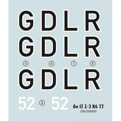 1/48 Do 17 Z-2 GD+LR KG 77