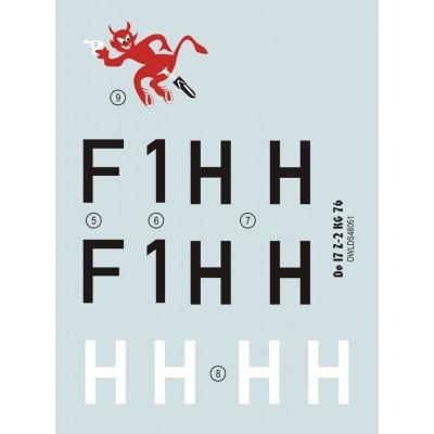 1/48 Do 17 Z-2 F1+HH KG 76