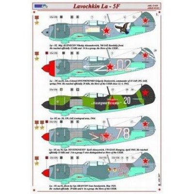 Lavochkin La-5F