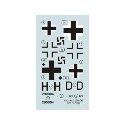 1/72 He 219 A-2 G9+DH