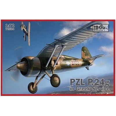 1/72 PZL.P.24g in Greek Service