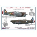 1/48 Curtiss H75A-1 & Morane-Saulnier MS-406C.I