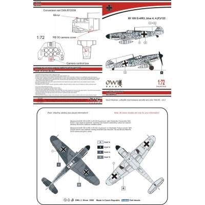 1/72 Bf 109 G-4/R3 Afklärer
