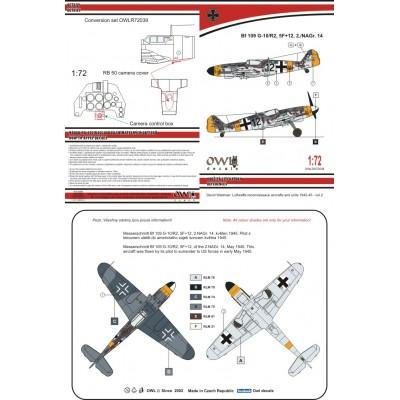 1/72 Bf 109 G-10/R3 Afklärer