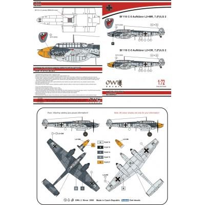 1/72 Bf 110 C-5 Aufklärer