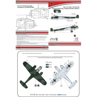 1/72 Do 17 Z-5  General Kesselring