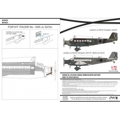 1/72 Junkers Ju 52/3m Spanish transport