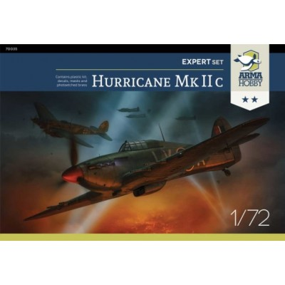 1/72 Hawker Hurricane Mk IIc Expert Set!