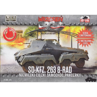 1/72 Sd.Kfz.263 8-Rad German Heavy Armoured Car
