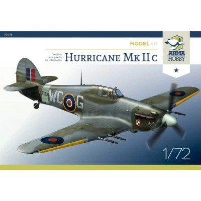 1/72 Hurricane Mk IIc Model Kit!