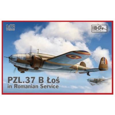1/72 PZL.37 B II LOŚ in Romanian Service