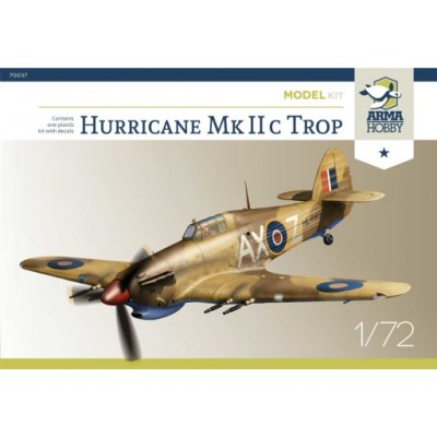 1/72 Hurricane Mk Iic trop Model Kit!