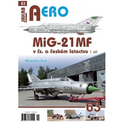MiG-21 MF v čs. a českém letectvu 1.díl (M.Irra)
