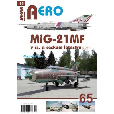MiG-21 MF v čs. a českém letectvu 2.díl (M.Irra)
