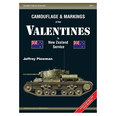 Camouflage and Markings of the Valentines in New Zealand...