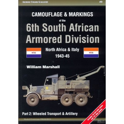 Camouflage and Markings of the 6th South African Armored...