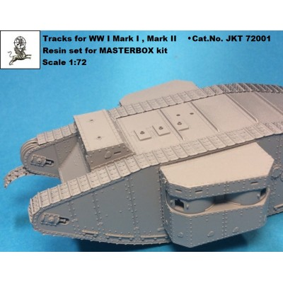 1/72 Tracks for WW I tank MARK I / II