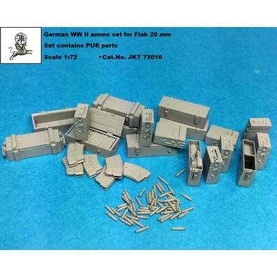 1/72 German WW II Flak 20 mm ammo set ( PUR parts )