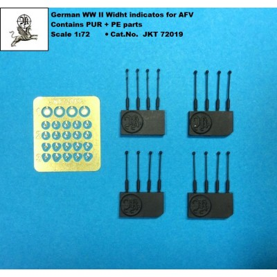 1/72 German WW II Widht indicator for AFV ( PUR + PE parts)