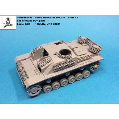 1/72 German WW II StuG III / StuH 42 - spare tracks ( PUR...