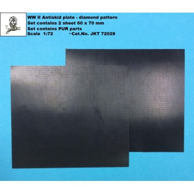 1/72 German WW II Antiskid plate - diamond pattern ( PUR...