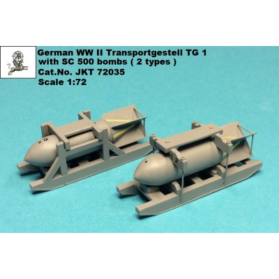 1/72 German WW II Luftwaffe Transportgestell TG1 with SC...