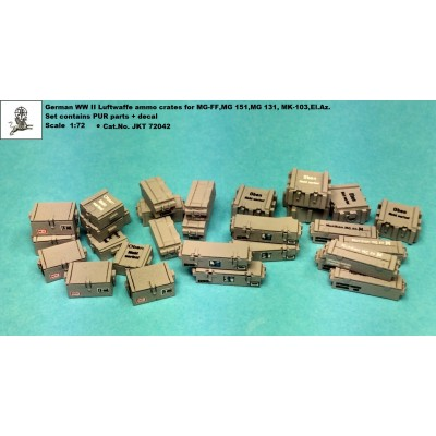 1/72 German WW II Luftwaffe ammo boxes ( PUR + decal )