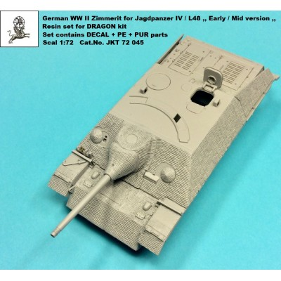 1/72 Zimmerit for Jagdpanzer IV L/48 ,,Early/Mid version,,