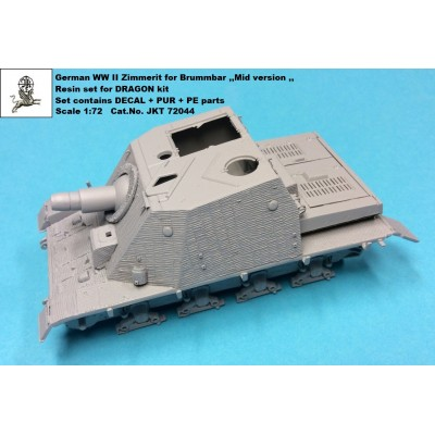 1/72 Zimmerit for Brummbar ,,Mid version,,