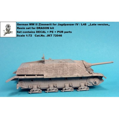 1/72 Zimmerit for Jagdpanzer IV L/48 ,,Late version,,