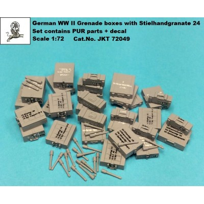 1/72 German WW II Pak 36 ammo - 162 pcs ( PUR parts )