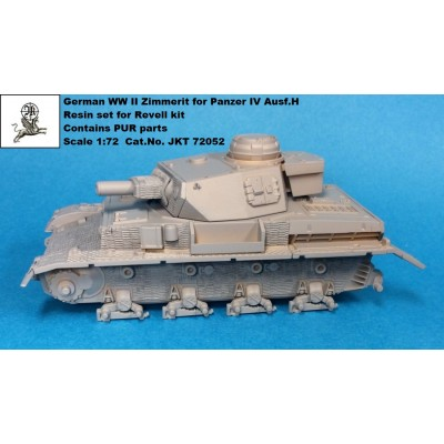 1/72 Zimmerit for Panzer IV Ausf. H