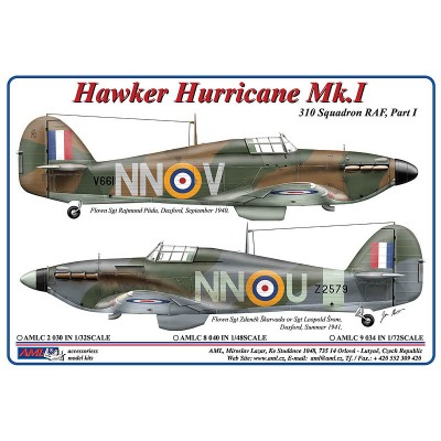 1/72 Hawker Hurricane Mk.I – NNoU & NNoV