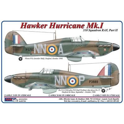 1/32 Hawker Hurricane Mk.I – NNoA & NNoP