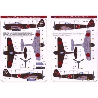 "Nakajima Ki43-III Ko""Hayabusa / Oscar"""