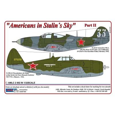 1/32  Airacobra Mk.I & P-47D-10 - Americans in Stalin's...