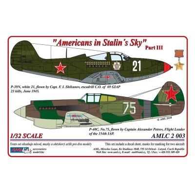 1/32  P-40C & P-39N - Americans in Stalin's Sky ,Part III