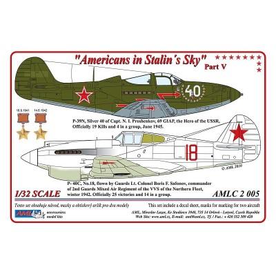 1/32  P-40C & P-39N - Americans in Stalin's Sky, Part V
