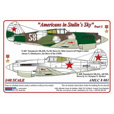 1/48  P-40C - Americans in Stalin's Sky, Part I