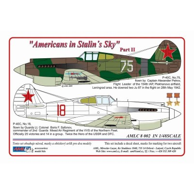 1/48  P-40C - Americans in Stalin's Sky, Part II