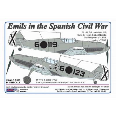 1/48  Emils in the Spanish Civil War