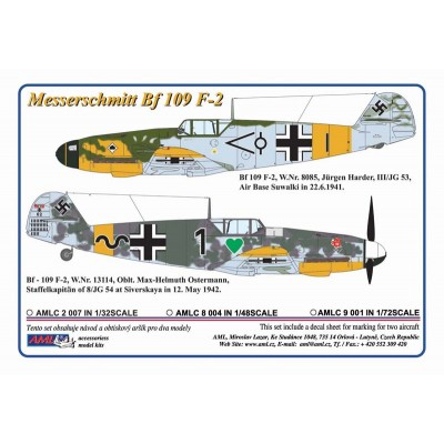 1/48  Messerschmit Bf 109 F-2