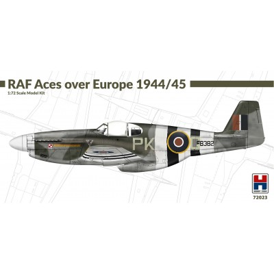 1/72 JMustang III RAF Aces over Europe 1944/45 - Limited...