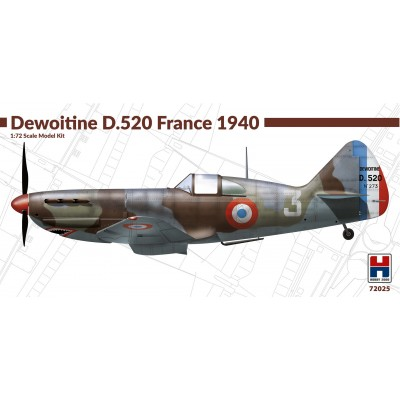 1/72  Dewoitine D.520 France 1940 - Limited Edition
