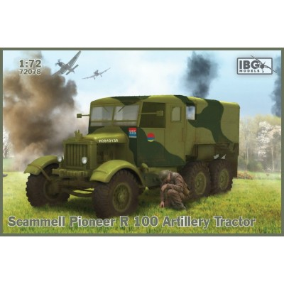 1/72  Scammell Pioneer R 100 Artillery Tractor