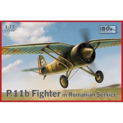 1/72 PZL.11b  Fighter in Romanian Service